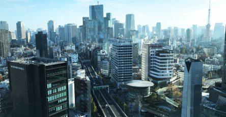 城市下的天空