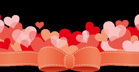 緞帶與愛心